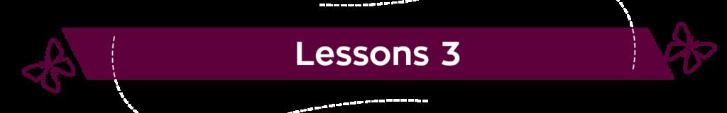 Doer Lessons 3 Morado